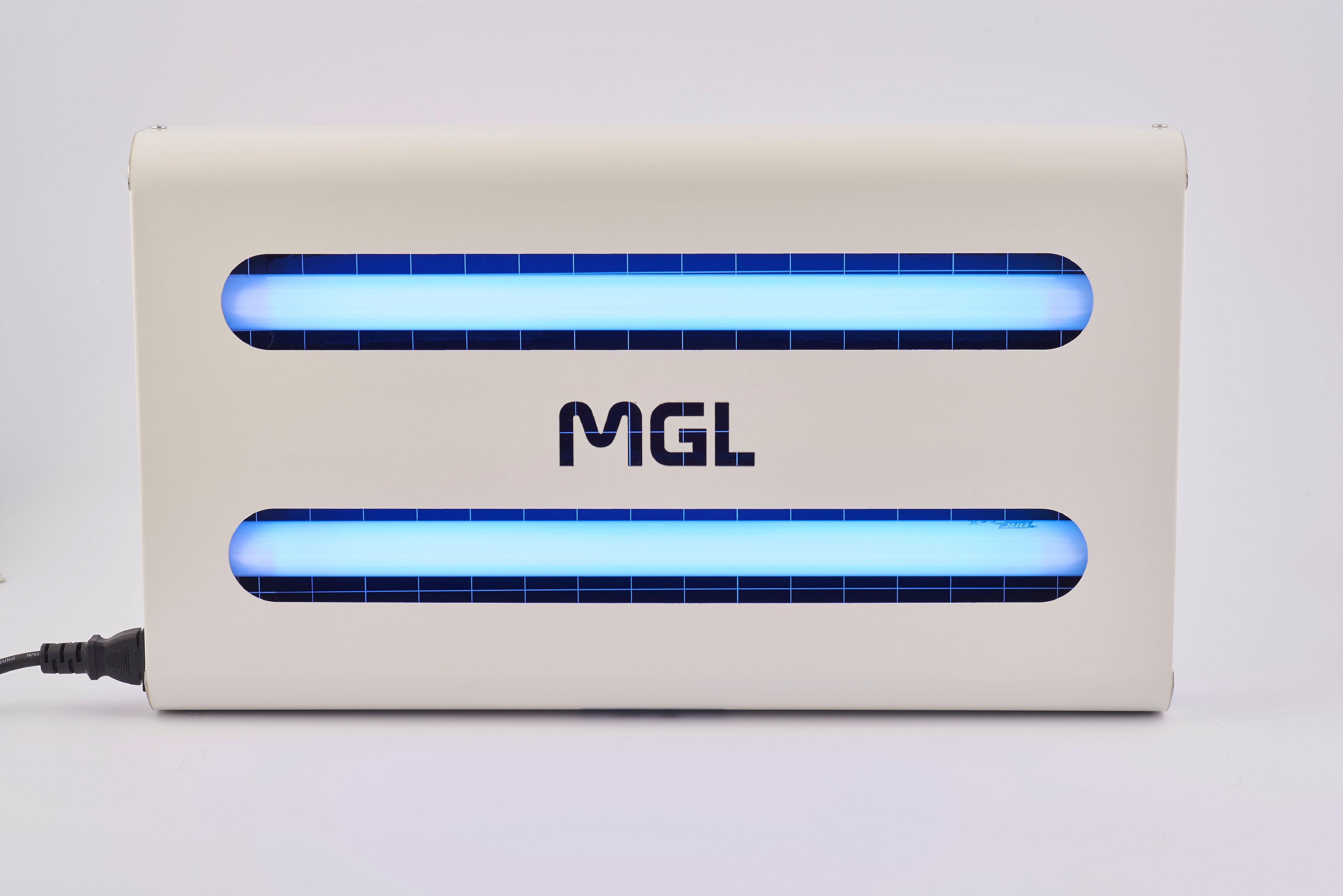 Μεταλλική επιτοίχια ηλεκτρική εντομοπαγίδα MGL